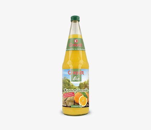 Orangensaft Bio