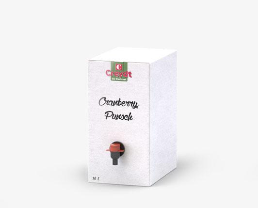 Cranberrypunsch 10L
