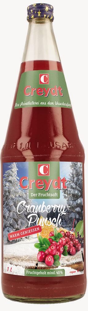 Cranberry-Punsch 1L