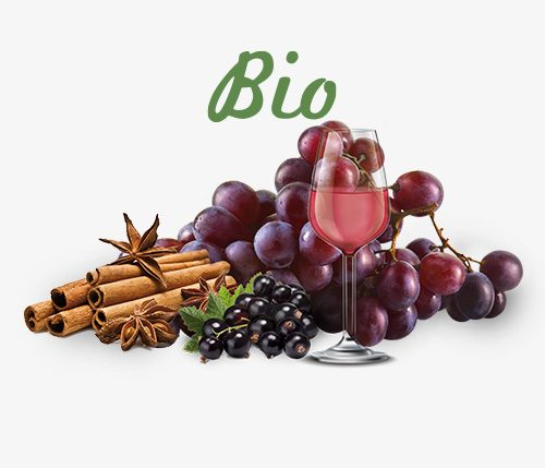 Bio Glühwein rosé